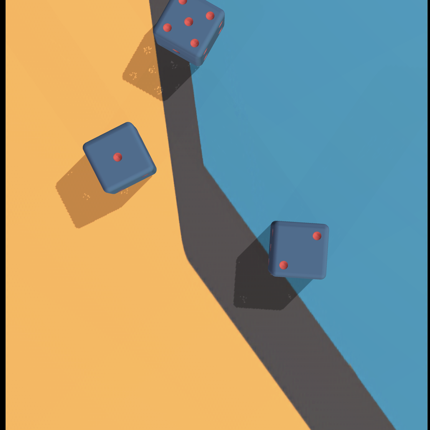 game dice 3d screenshot